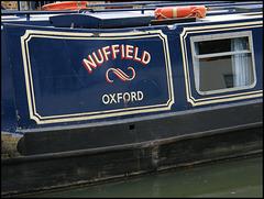Nuffield narrowboat