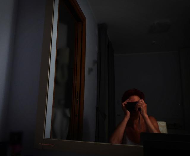 im Spiegel - der Fotograf