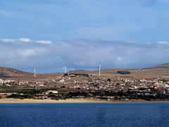 Teil vom Hauptort Porto Santo