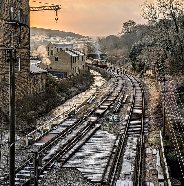 KWVR Haworth West Yorkshire 30th November 2019