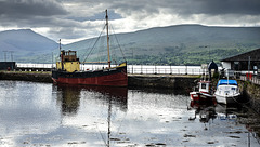 'Vital Spark', Inveraray Harbour