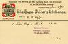 The Type-Writer's Exchange Billhead, Philadelphia, Pa., 1890