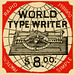 World Type Writer—Rapid, Durable, Practical, Simple, 1890