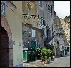 Capri : il centro storico- (813)