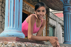Stefanie, a young lady in Baracoa