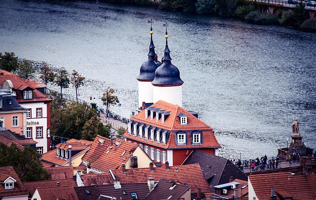 Heidelberg - Neckarblick