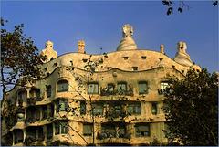 'Casa Milà' -La Pedrera-, Barcelona, Spain...