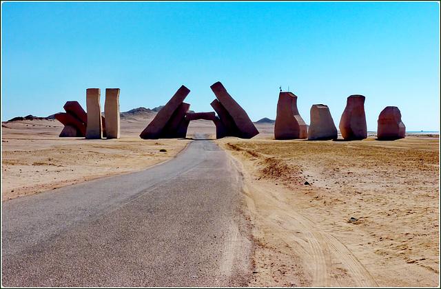 Sharm el Sheikh : Ras Mohammed - ingresso al parco marino naturale protetto
