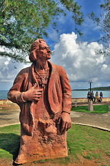 Christoph Columbus the discoverer of a new continent