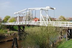 """Hogendiekbrücke im """"Alten Land"""" (2xPiP)"""