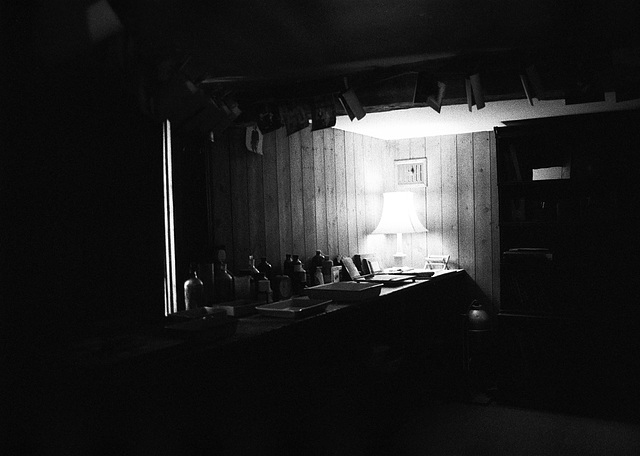 Photographic darkroom at Wightwick Manor House