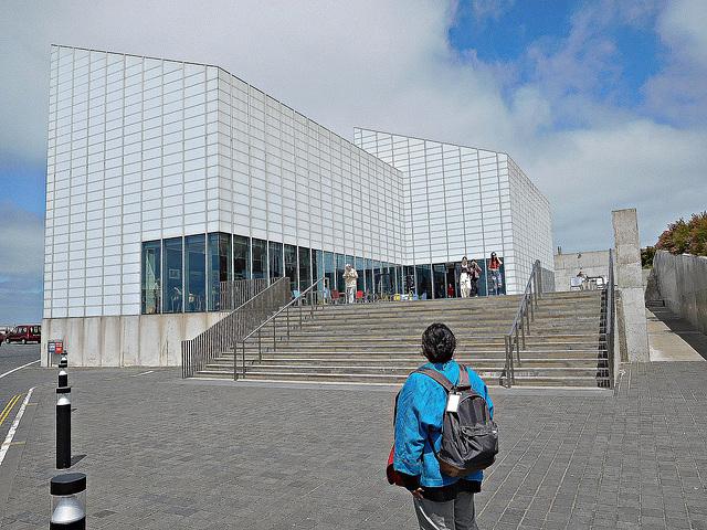 Turner Contemporary Entrance