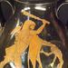 Detail of a Red-Figure Pelike with Herakles vs. Geras in the Louvre, June 2013