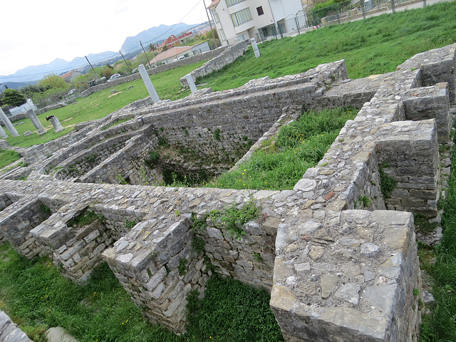Marusinac : mausolée d'Anastase.