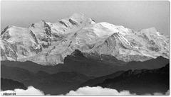 Le Mont Blanc vu du JURA