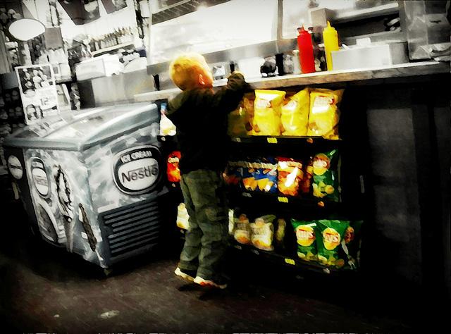 Little customer