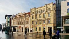 Schwerin, historische Fassaden am Marienplatz