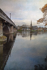 River Leven and Dumbarton Bridge
