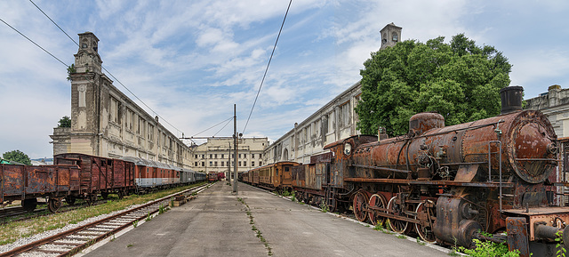 Abandoned Trieste - lost station