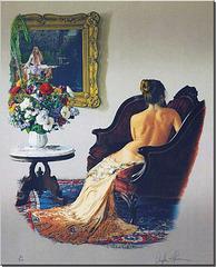 Lady of Shalott by Douglas Hofmann 1988