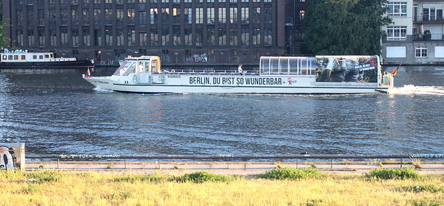 Boat on the River Spree
