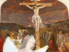 Das Kreuz in der Kalvarienbergkirche