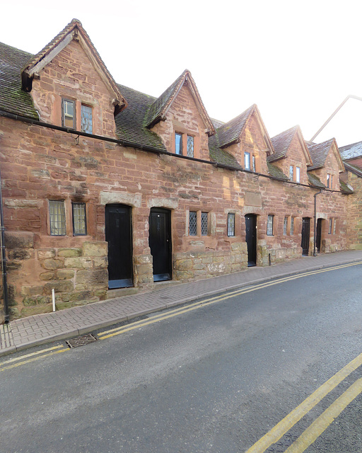 rudhall almshouses, ross-on-wye, herefs.