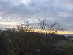 Le soleil se lève sur Saint Uze