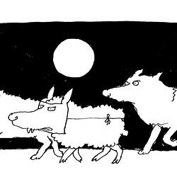 Cirkonstanco (karikaturo de Ungerer)