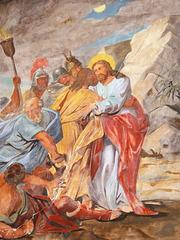 Jesus wird gefangen genommen