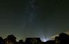 Herbstlicher Nachthimmel (view on black)