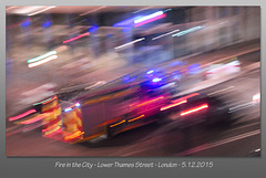Fire in the City - London - 5.12.2015