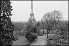 Carte postale parisienne
