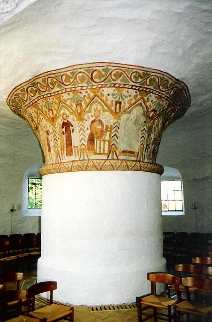 Nykirke - das Kircheninnere