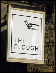 boring minimalist pub sign