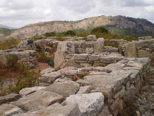 Upper lever of Bouleuteurion (local parliament).