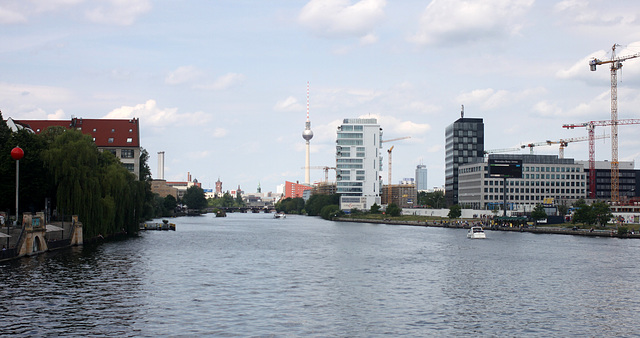 View from the Oberbaumbrücke