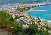 Alanya : una grande vista della città