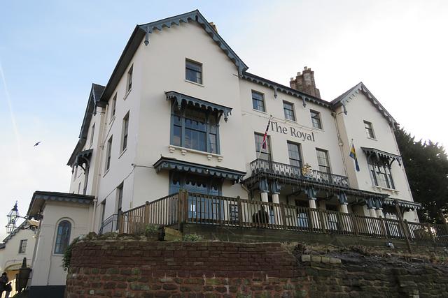 royal hotel, ross-on-wye, herefs.