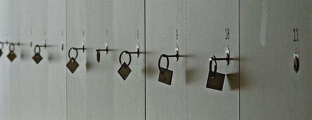 Turner Contemporary gallery lockers