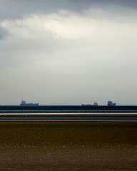 Distant ships