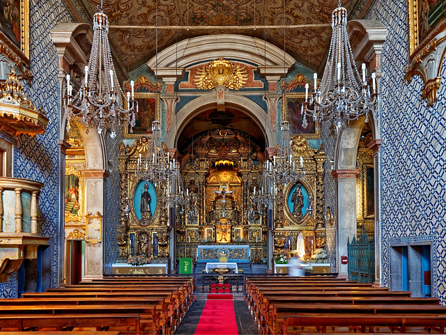 In der São Pedro Kirche
