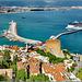 Alanya : inquadratura del porto