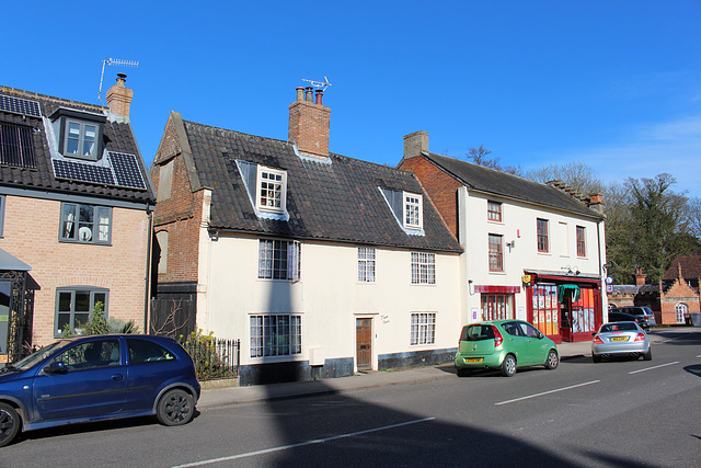 Manor House, Yoxford, Suffok