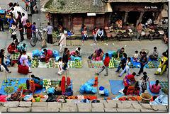 """""""In the market"""" - Kathmandu - NEPAL"""