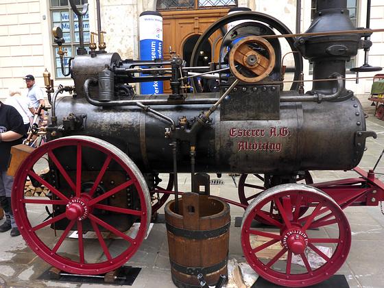 1922 - Patent - Heißdampf - Lokomobil