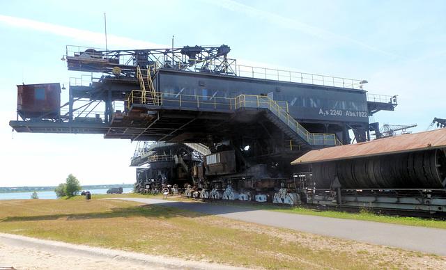Ferropolis - Stadt aus Eisen bei Gräfenhainichen