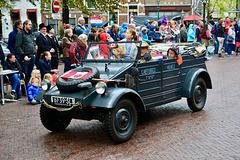 Leidens Ontzet 2017 – Parade – 1942 Volkswagen KDF 82