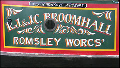 Broomhall narrowboat
