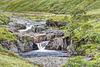 River Etive waterfalls, Glen Etive, Argyll, Scotland
